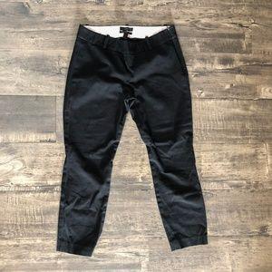 J. Crew Black Minnie Pants